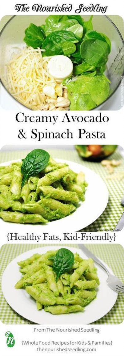 Creamy avocado and spinach pasta sauces cups and toddler food recipes forumfinder Images