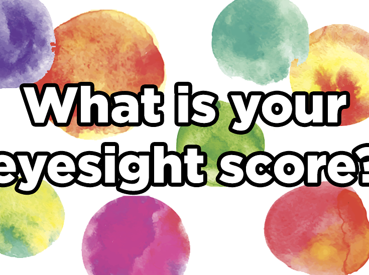 What Is Your Eyesight Score? | Buzzfeed quizzes