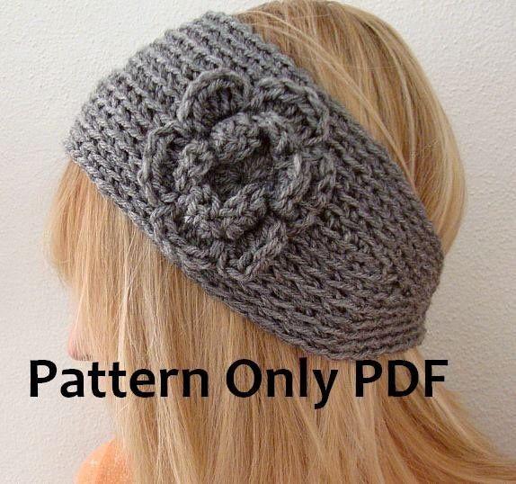 Super Wide Head Warmer+ pattern by Mary Wright | Pinterest