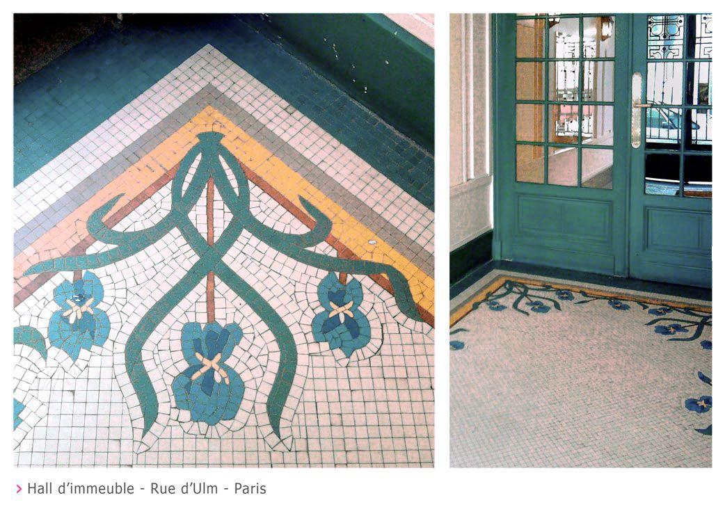 Decomosa Rue D Ulm Paris Mosaique
