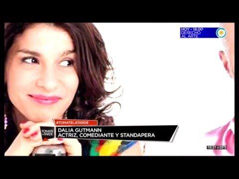 Dalia Gutmann en Tomate la Tarde (1 de 2) - YouTube