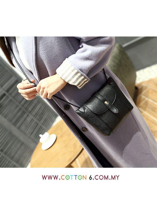 318759b790a3 Korean Style Simple Sling Bag