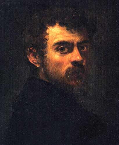 Tintoretto (Jacopo Robusti) - Self Portrait (1547)