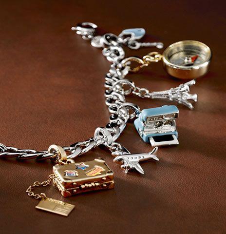 0fe49b91d FOSSIL charms.   Dee's Style   Vintage charm bracelet, Pandora ...