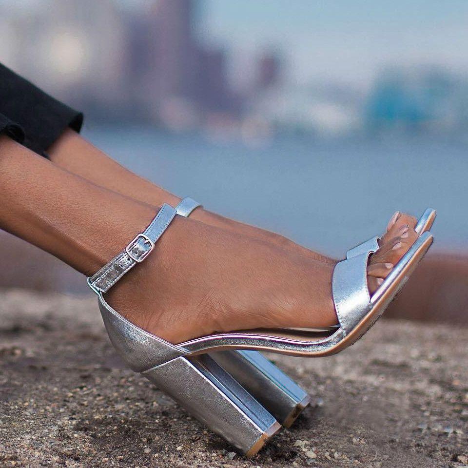 ab3822d01fd Steve Madden Carrson Block Heels | **DESIGNER SHOES | Shoes, Heels ...
