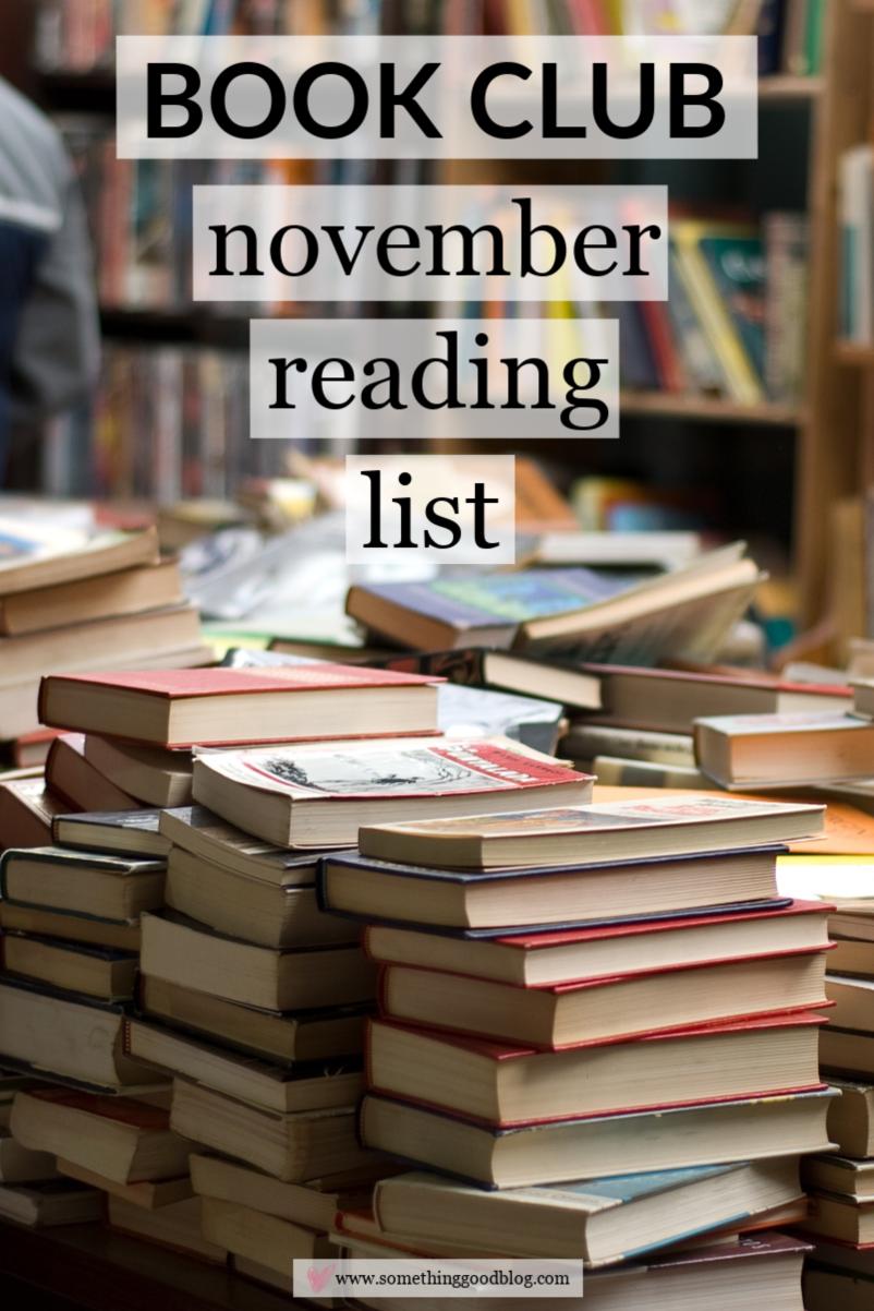 November 2018 Reading List Bookshelf Pinterest Reading Lists