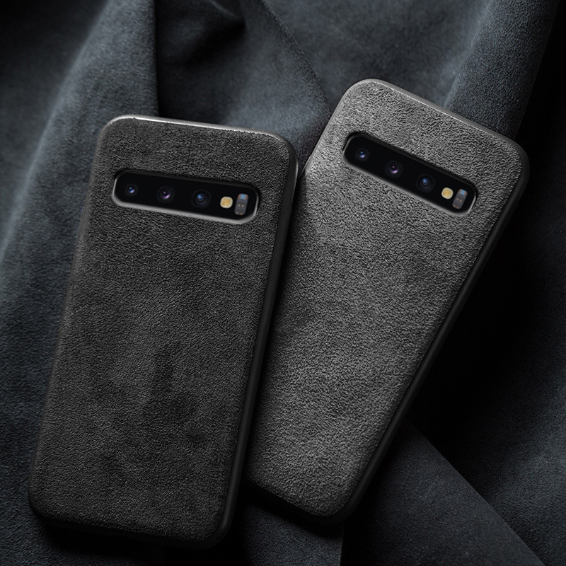 Phone Case For Samsung Galaxy S20 Ultra S10 S10e S8 S9 Note 8 9 10 Plus S7 Edge A71 A51 A70 A50 A30 A20 A10 Suede Leather Cover Leather Phone Case