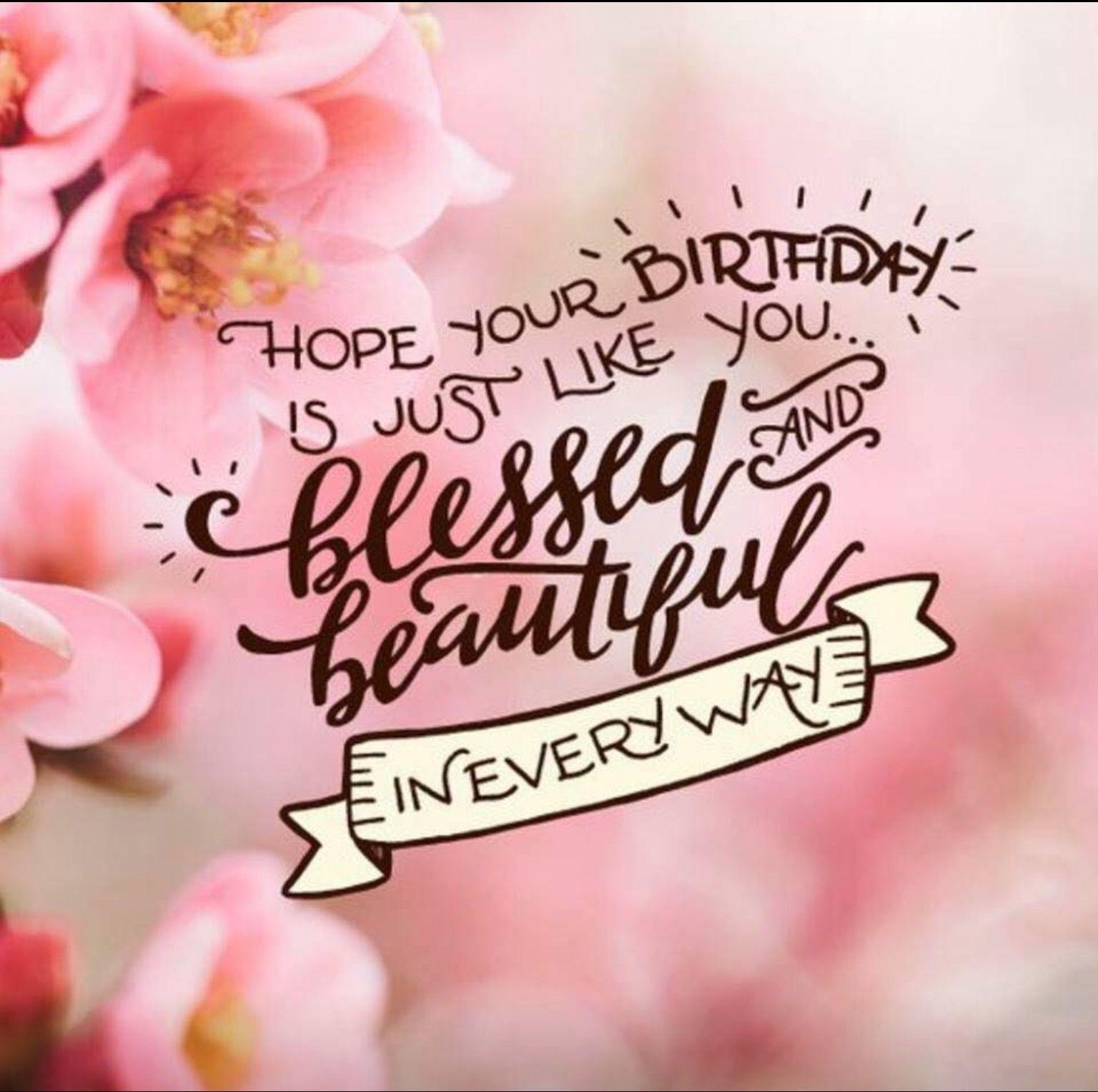 Blessed birthday Verjaardagsberichten