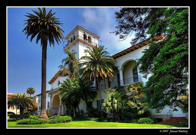 Historic Santa Barbara Courthouse Santa Barbara Courthouse Visit Santa Barbara Santa Barbara County
