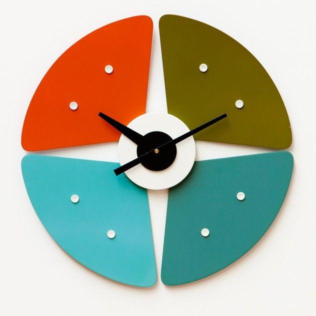 George Nelson Etal Clock Contemporary Wall Clock Clock Clock Design