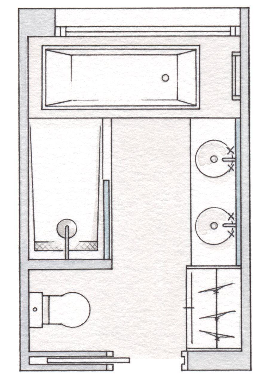 Imagen relacionada bathroom layout pinterest bath house and