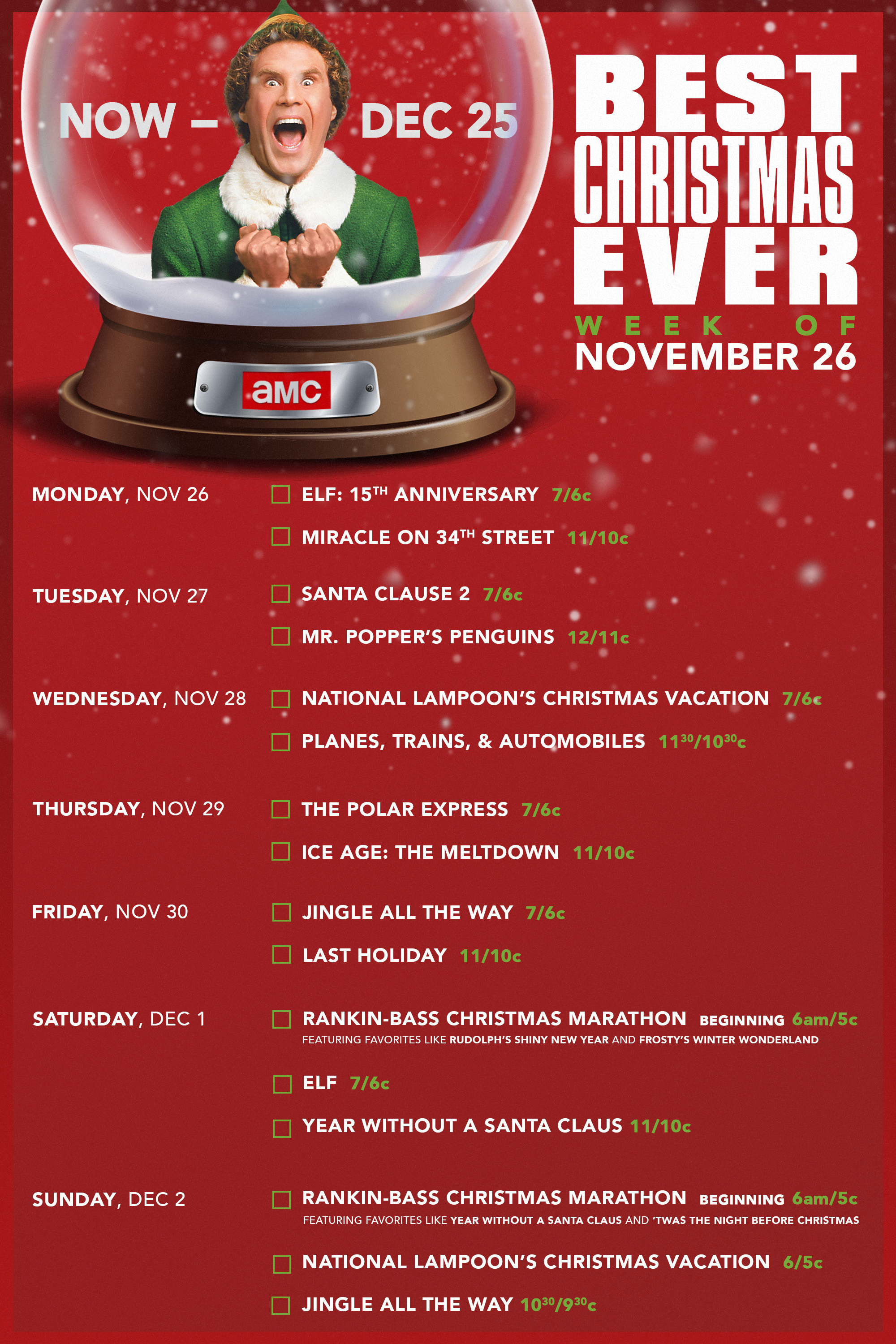 Watch Amc S Bestxmasever Now On Amc Christmas Fun National Lampoons Christmas Vacation Lampoon S Christmas Vacation
