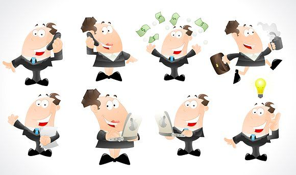 Office Businessmen Characters
