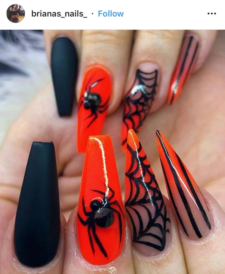 Halloween Nails Halloween Nails Easy Halloween Nail Designs Holloween Nails