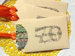 Image Result For Thanksgiving Favors Adults 70th Birthday Party