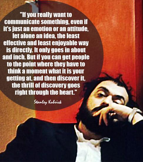 Pin Di Elfoscuro Su Stanley Kubrick Riflessioni E Citazioni