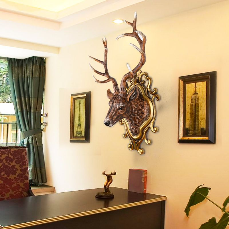 Find More Statues & Sculptures Information about deer living room ...