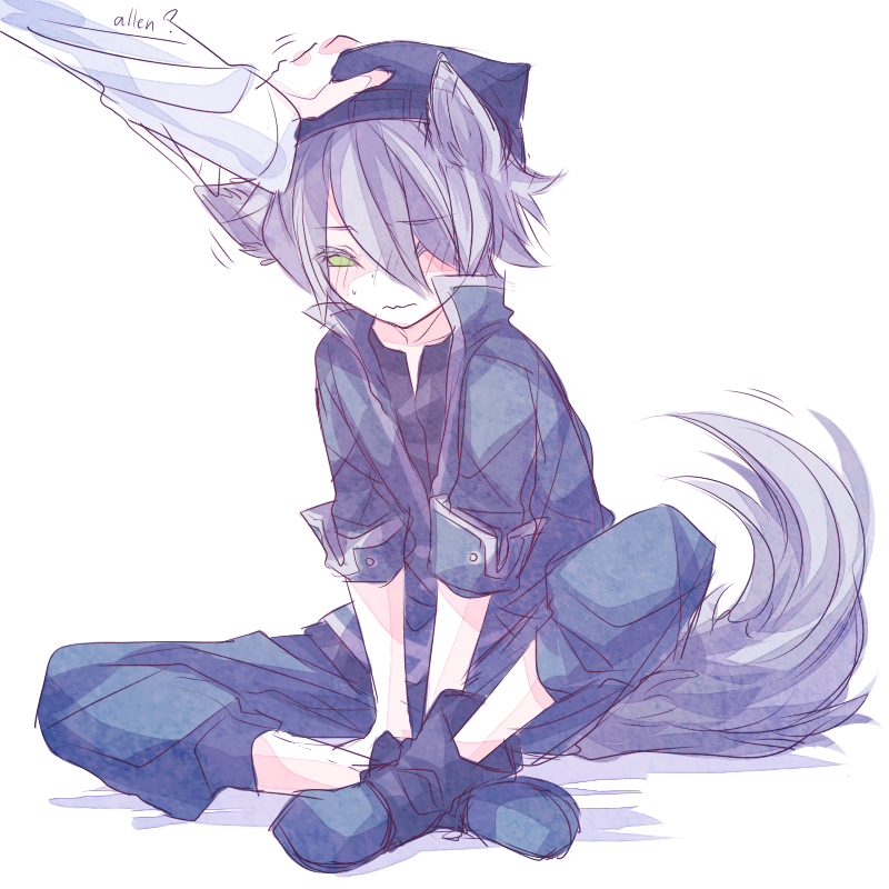 Картинки аниме парни с ушками волка и собаки