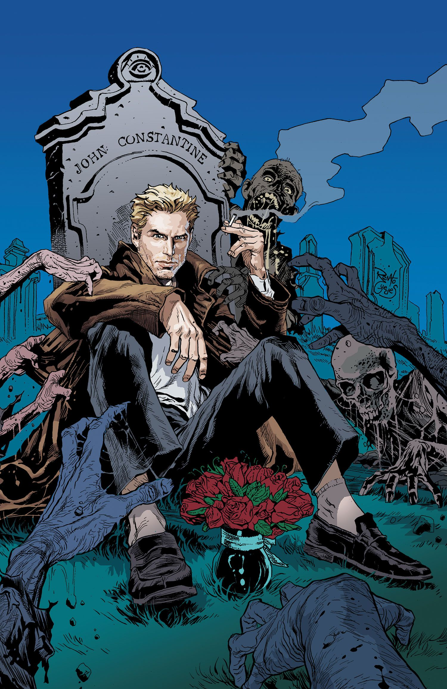 Constantine 1 Dc Comics Grave Constantine Comic John Constantine Comic Book Characters