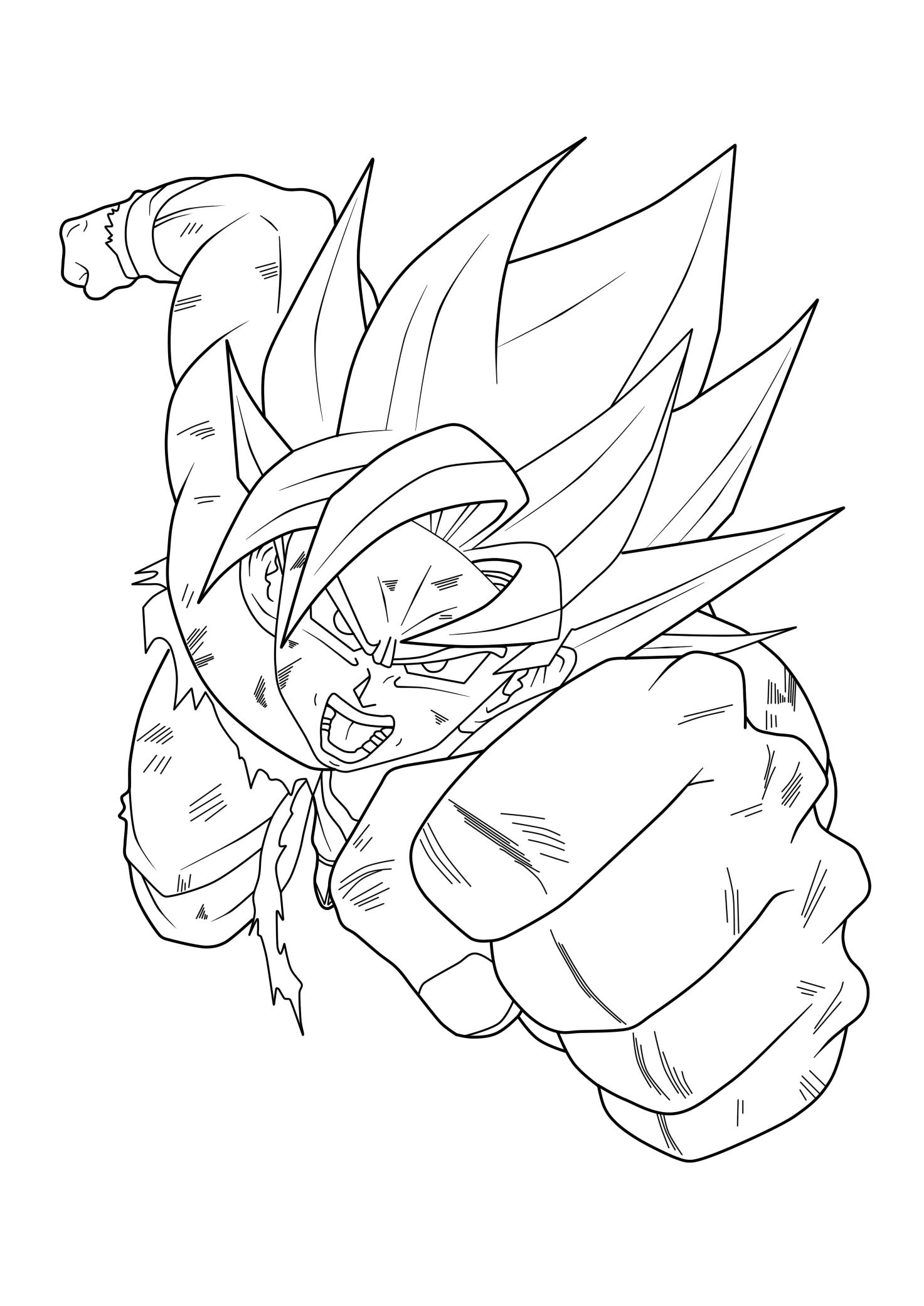 Goku Lineart Art Dragon Ball Art Dragon Ball Super Dbz Drawings