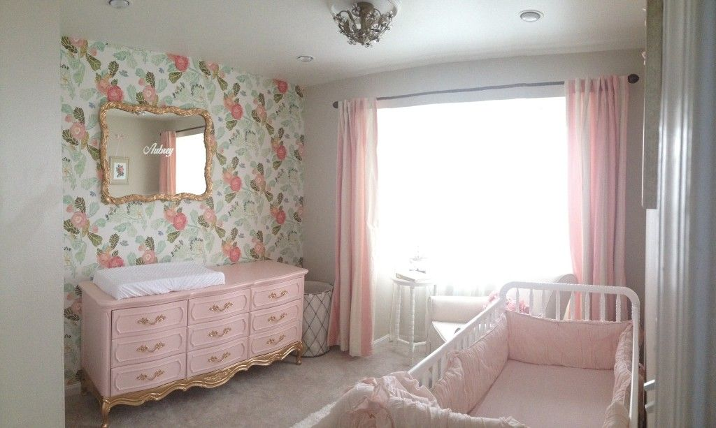 Vintage Girl S Nursery With Images Vintage Girl Nursery Shabby Chic Nursery Shabby Chic Nursery Decor