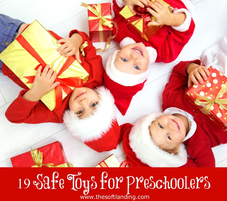 19 Safe Christmas Gifts for Preschoolers Christmas gifts, Toy and Gift