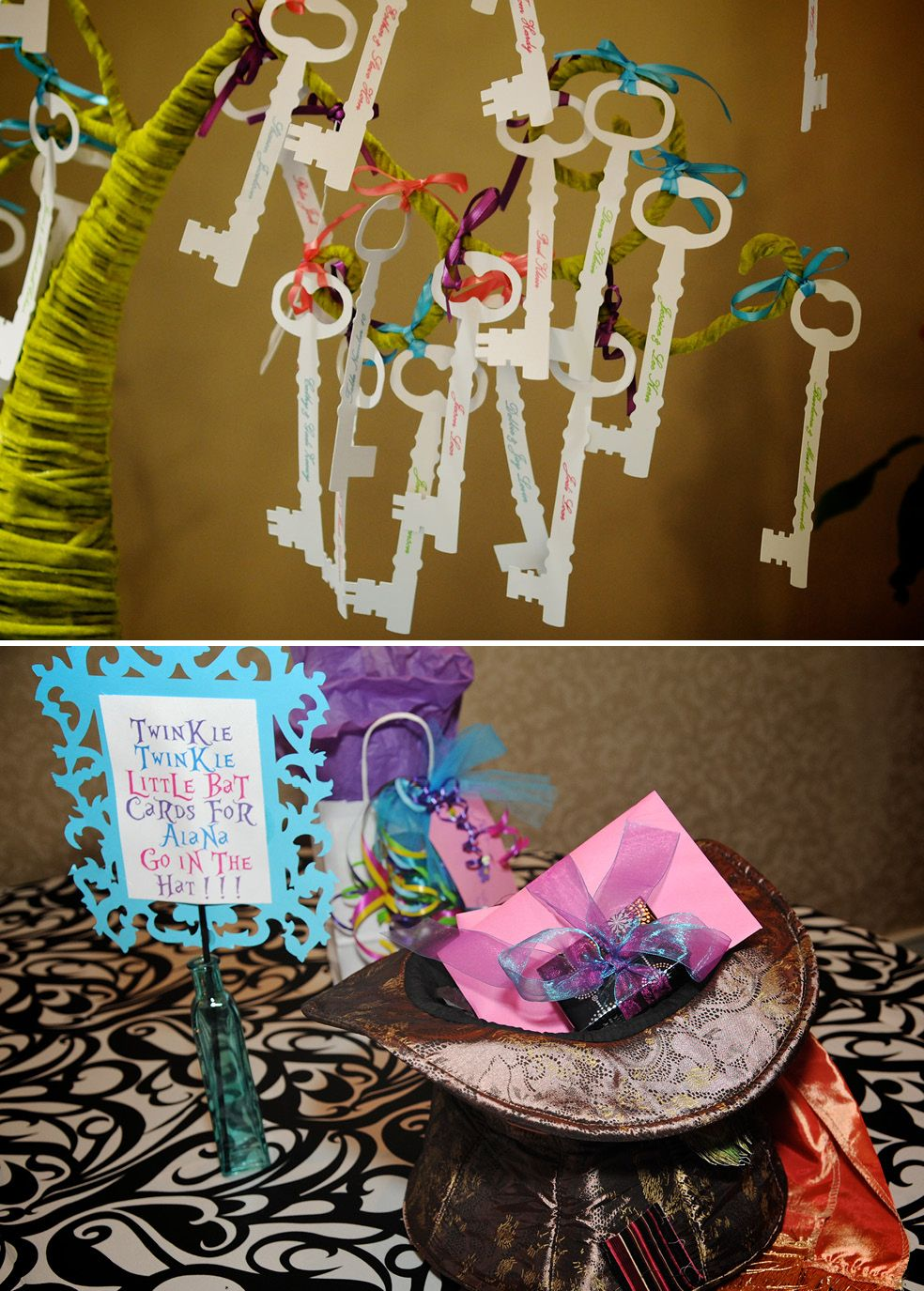 Alice In Wonderland Themed Bat Mitzvah