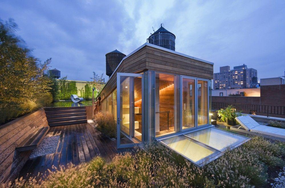 Gallery Of Broadway Penthouse Joel Sanders 1 Rooftop Design