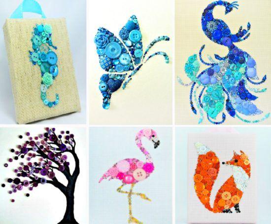 Artwork Ideas button artwork amazing ideas that you will love | ideas, buttons