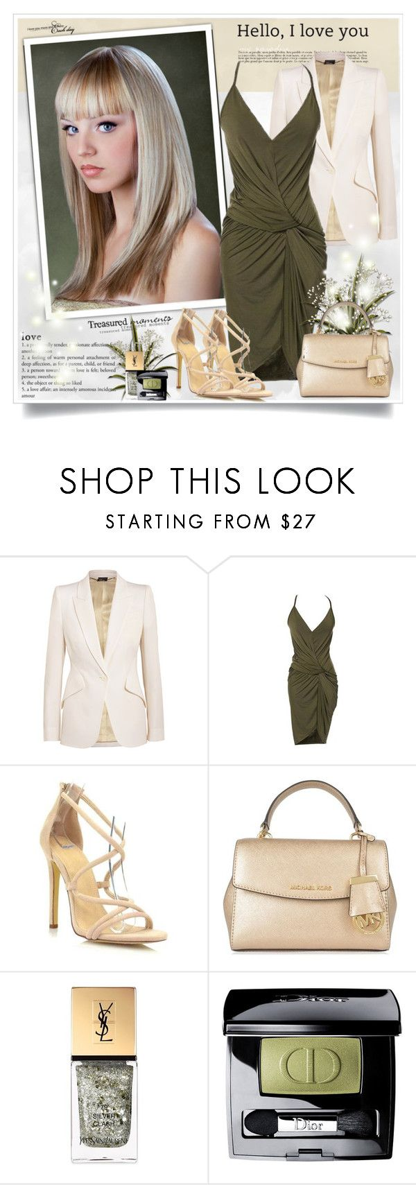 """""""6IXLABEL"""" by sneky ❤ liked on Polyvore featuring Alexander McQueen, Augusta, MICHAEL Michael Kors, Yves Saint Laurent, Christian Dior and 6ixlabel"""
