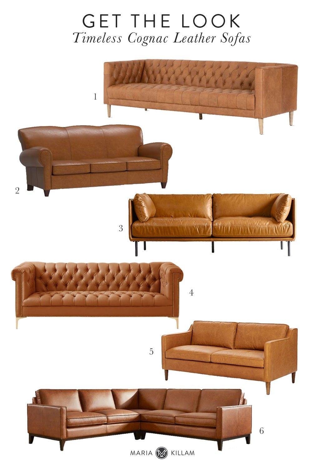 Is A Cognac Leather Sofa Timeless Or Trendy Yay Or Nay In 2021 Cognac Leather Sofa Leather Sofa Timeless Sofa What color is cognac leather