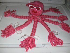 Kid S Yarn Octopus Yarns Octopus And Kid