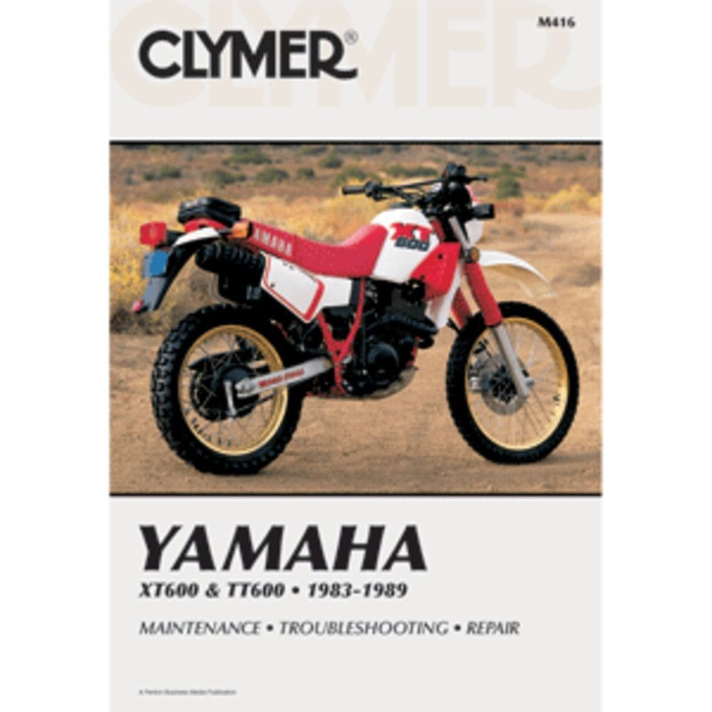 Yamaha XT600 and TT600 1983-1989Clymer motorcycle repair manuals are  written specifically for the do-it-yourself enthusiast. From basic  maintenance to ...