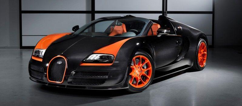 Marvelous Bugatti Veyron Grand Sport Vitesse World Record Car 2013