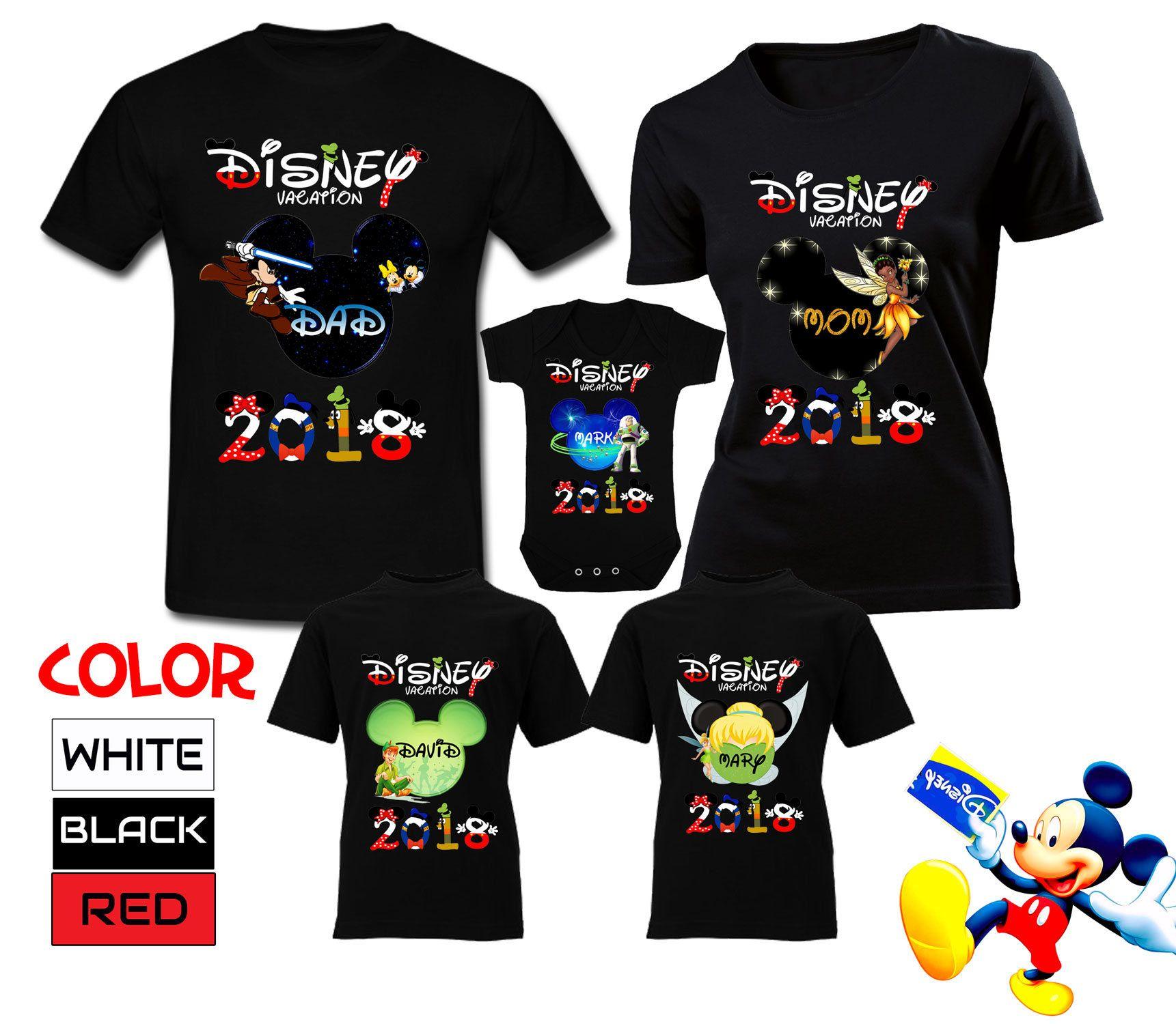 b129cbbfe281 Disney Vacation Shirts Family Disney Trip T-Shirts Family Disney T-Shirts  Mickey Mouse Shirt Disney World Shirts Custom Disney Shirts by  DesignApparelStore ...