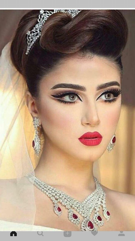 Pin By Maram E M S On Faces Bridal Makeup Hair Makeup