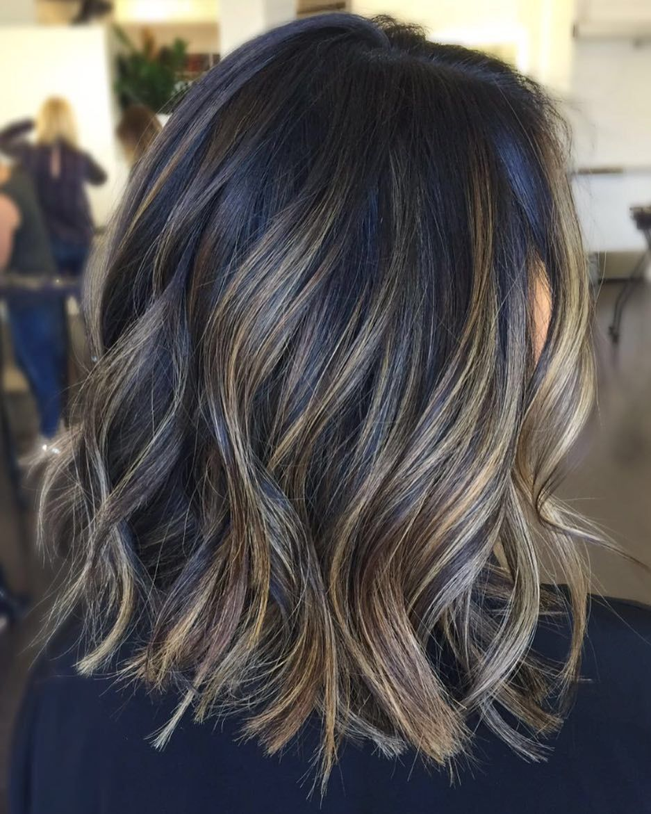 60 Hairstyles Featuring Dark Brown Hair With Highlights Hair Styles Hair Highlights Wedding Hair Colors