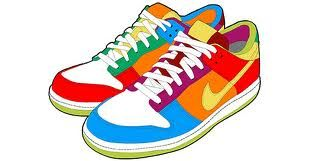 Sneaker Vector Free Colorful Sneakers Nike Sneakers Nike