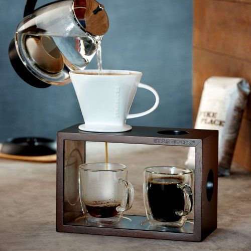 Starbucks Brew By The Cup Pour Over Brewing System Starbucks Pour Over Coffee Maker Pour Over Coffee Coffee Maker