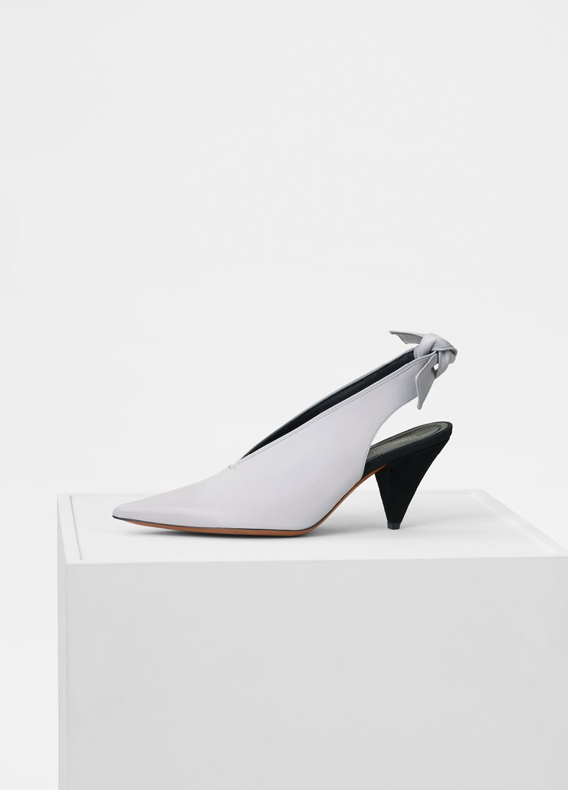 Soft V Neck Pump Slingback in Nappa Lambskin - Fall / Winter Collection 2017 | CÉLINE