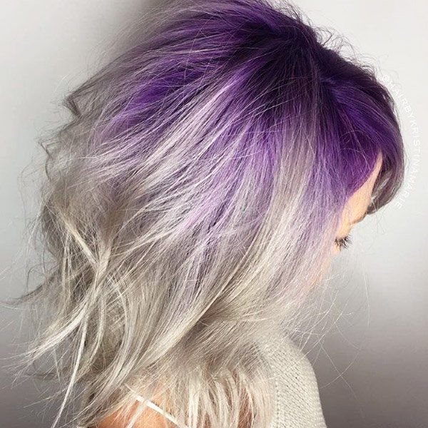 Colorful Roots Is Our Newest Hair Color Obsession   theFashionSpot Gallery