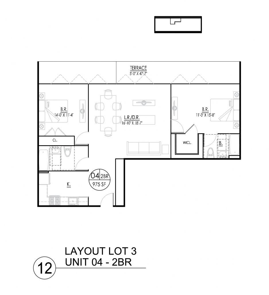 Exceptionnel 2 Bedroom Basement Apartment Floor Plans