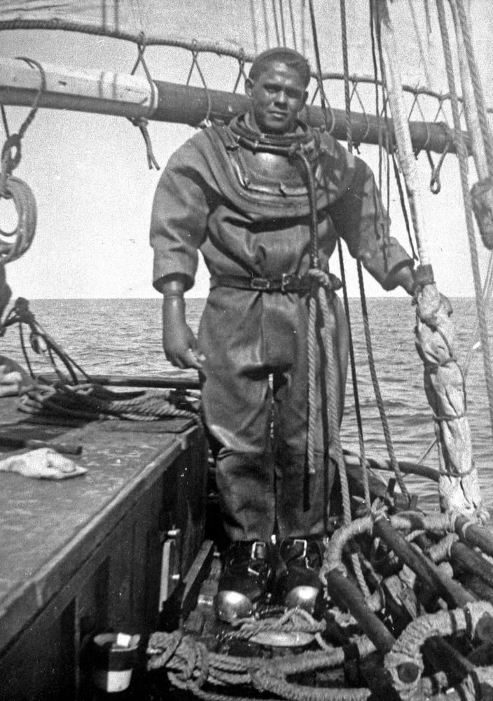 Aboriginal Hard Hat Diver Fred Corpus Was Considered As
