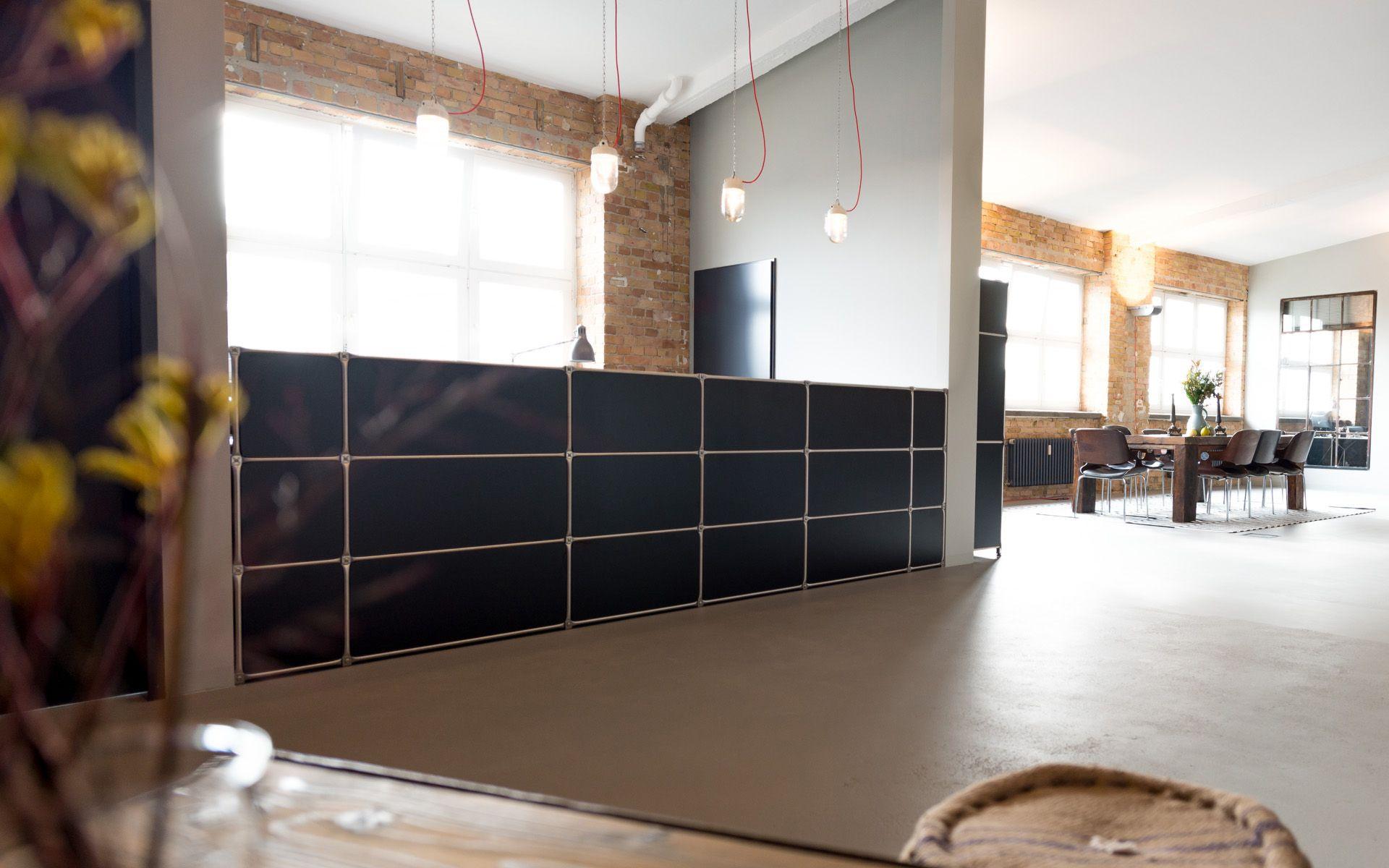 Modulare b roeinrichtung m belbausystem haarwerkstatt system 180 moderne flexible - Moderne wohneinrichtung ...