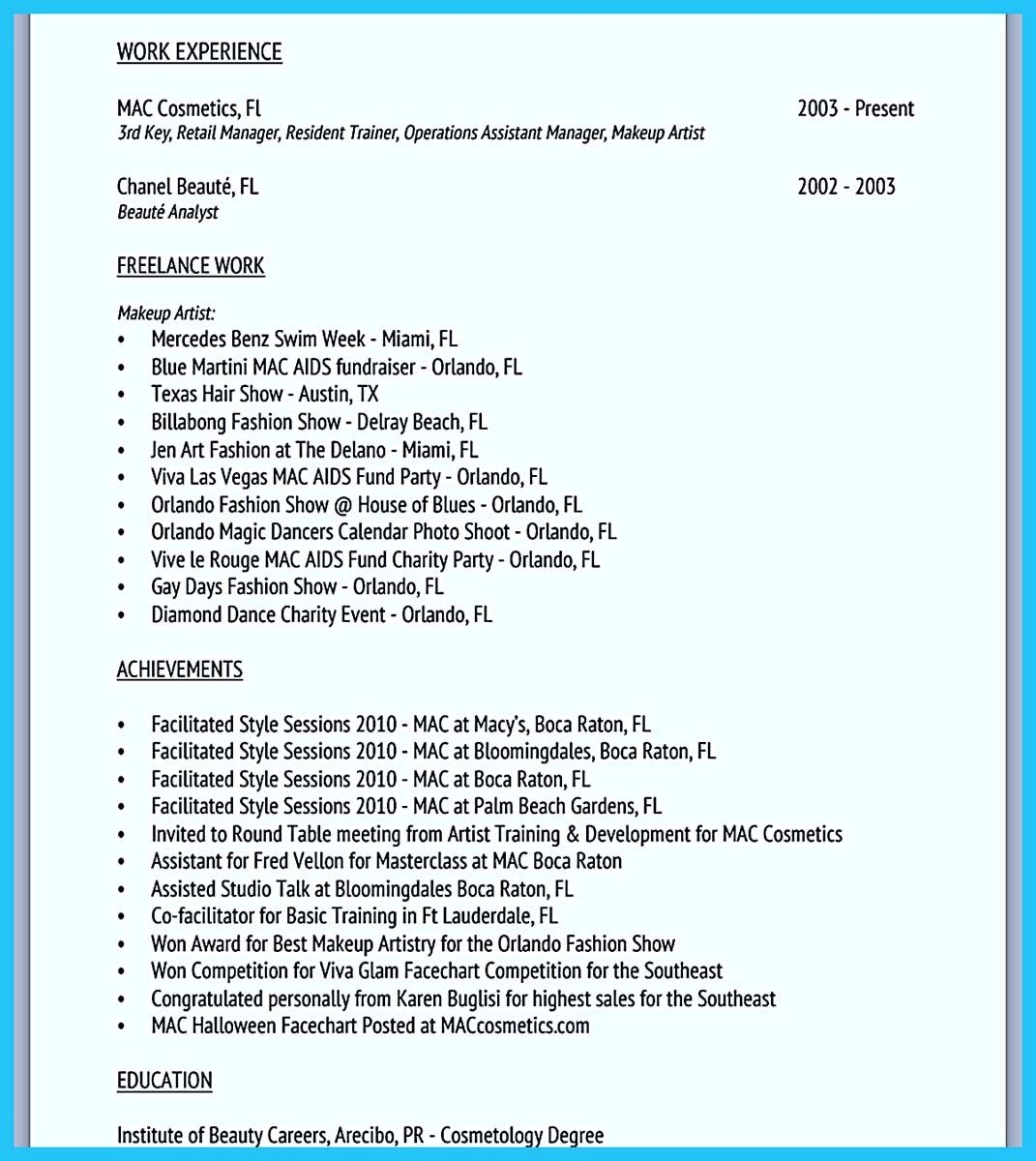 nice Artist Resume Template That Look Professional,,http://snefci ...