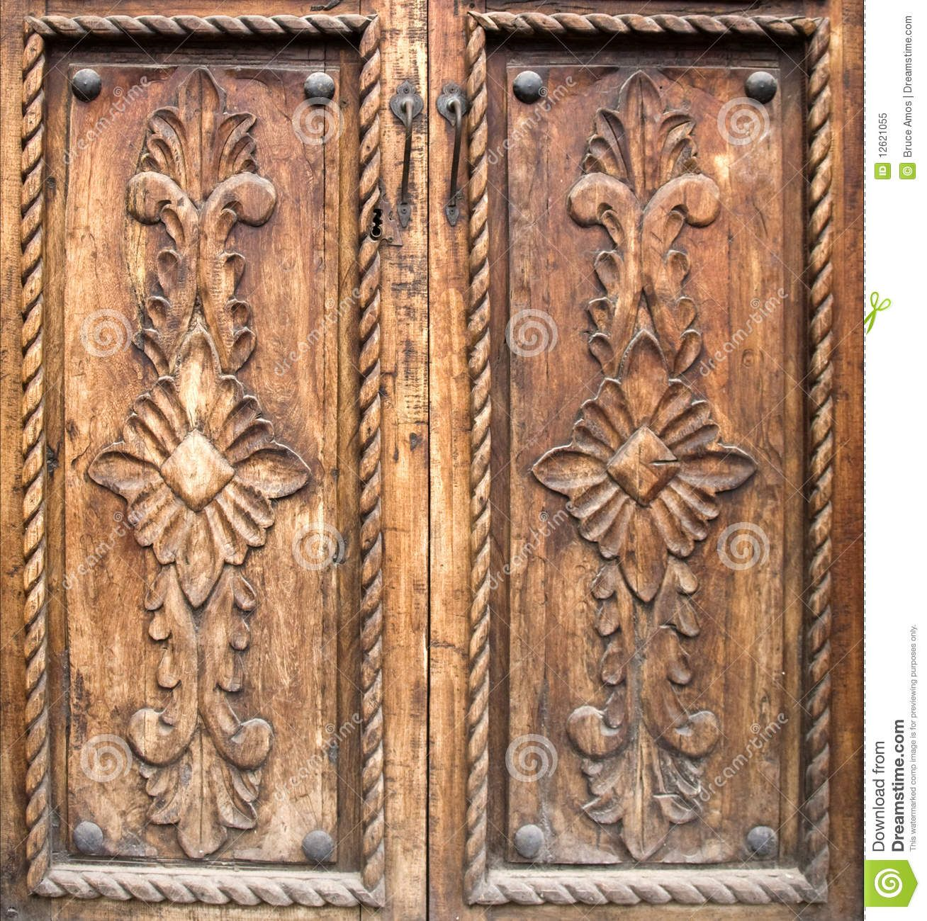 Antique Carved Wooden Doors Royalty Free Stock Photo - Image: 12621055 - Antique Carved Wooden Doors Royalty Free Stock Photo - Image