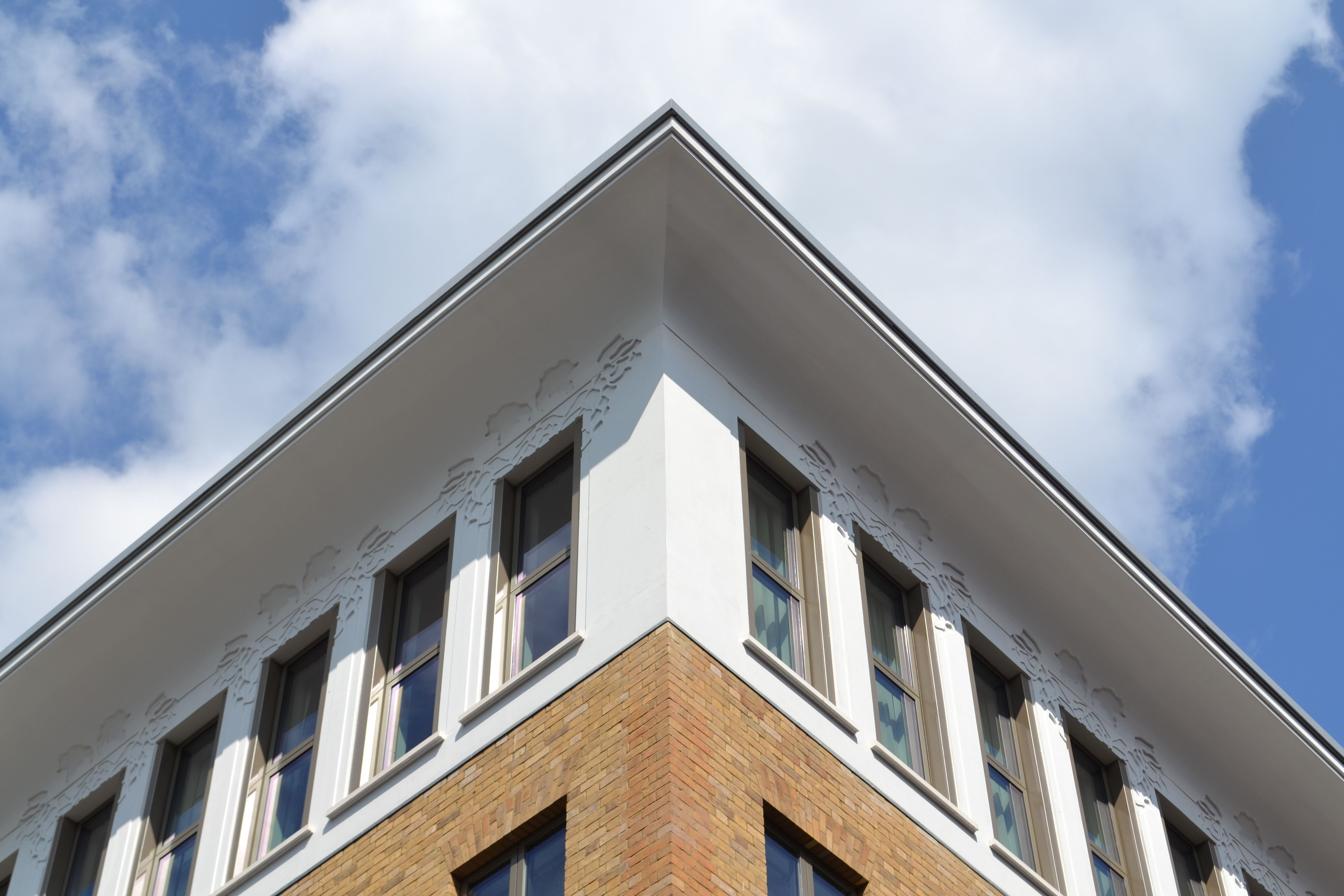 Hop House, Covent Garden - Roof Corner Detail including Hop Detail