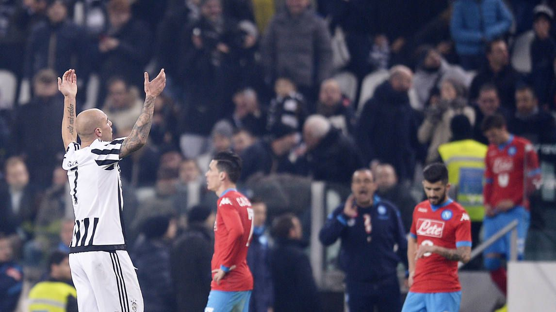 Juventus-Napoli 1-0: Zaza lancia i bianconeri in testa - Corriere dello Sport
