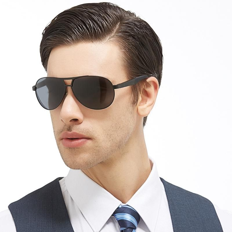 fd73410273 Lvvkee Top quality Aviator Sunglasses Mens luxury Polarized oversized  sunglasses Driving glasses Metal Hinge 3025. Yesterday s price  US  14.80  (12.85 EUR).