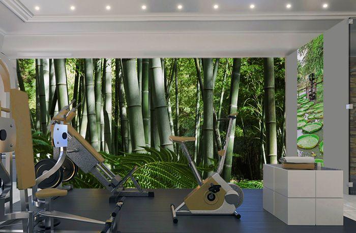 d co murale salle de sport zen d co pour les pros en. Black Bedroom Furniture Sets. Home Design Ideas